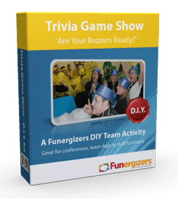 DIY Trivia Game Show Team Activity